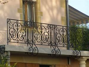 Rambarde Fer Forgé : fabricant portail portillon grille cl ture en fer ~ Dallasstarsshop.com Idées de Décoration