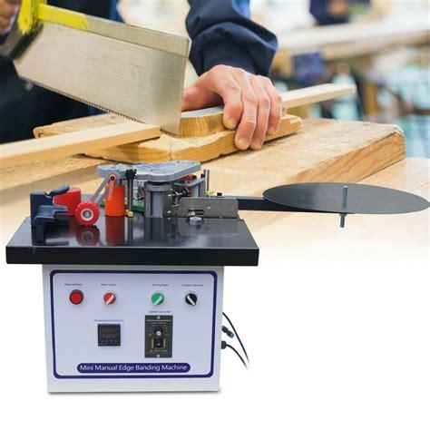 woodworking  edge banding machine ml glue double gluing edge ebay