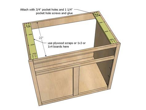 how to make a kitchen sink base cabinet diy projects kitchen cabinet sink base 36 full overlay