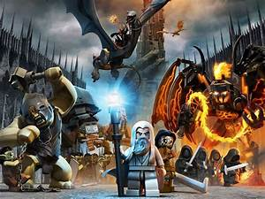Lego, The, Lord, Of, The, Rings, Hd, Wallpapers, Desktop, And