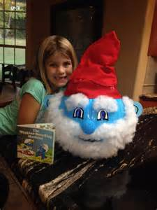 Non Carving Pumpkin Decorating Ideas by Papa Smurf Pumpkin Diy Pinterest