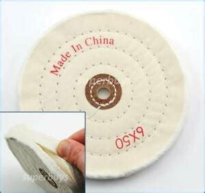 Polishing Wheel For Bench Grinder by 150mm Cloth Polishing Buffing Wheel Cleaning Pad Power