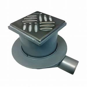 Bonde Receveur A Carreler : siphon de sol pour receveur pr t carreler ~ Premium-room.com Idées de Décoration