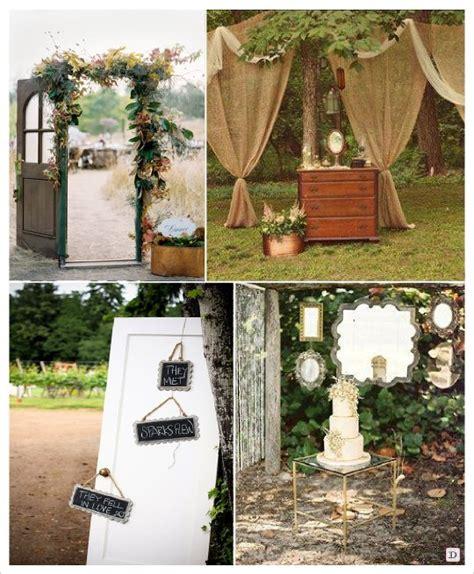 tendance outdoor decoration mariage en ext 233 rieur