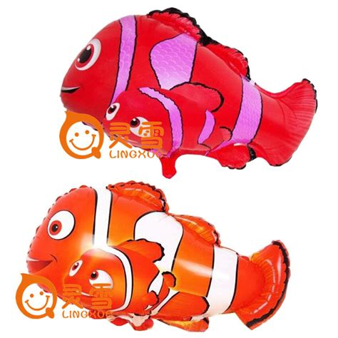 pcslot cm small clown fish balloons nemo fish