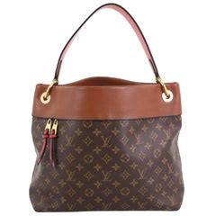 louis vuitton tuileries hobo monogram canvas  leather  stdibs