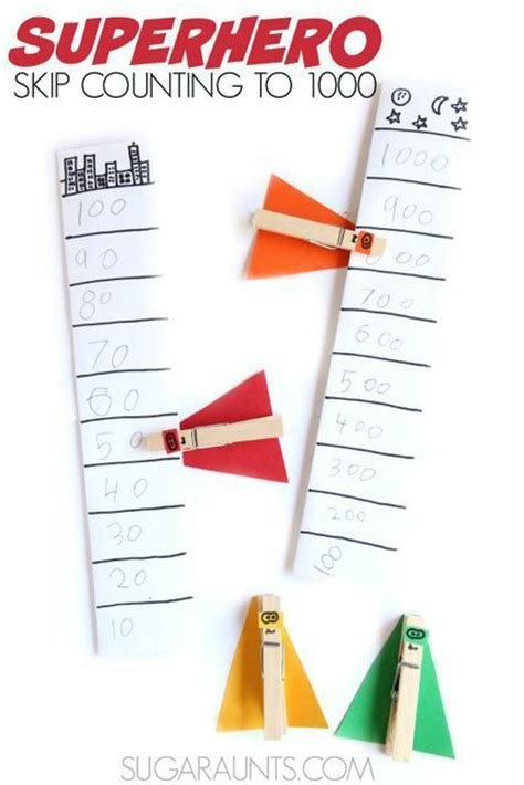 120 Skip Counting ideas | skip counting, math activities ...