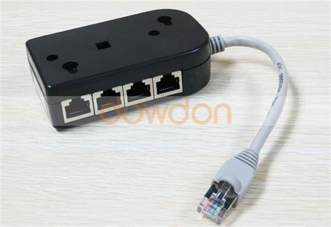 8 ports ethernet splitter hub view isdn splitter oem product details from shenzhen dowdon