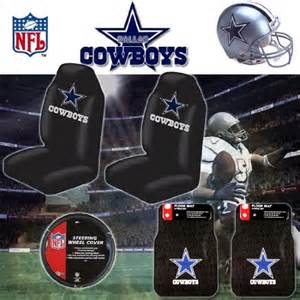 nfl dallas cowboys car seat covers floor mats and steering wheel cover set 803942906160 97 57