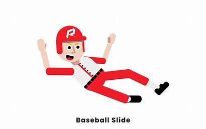 Baseball Sliding Slide Rules Base Diving 1st