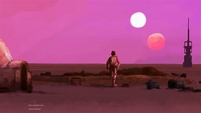 Aesthetic Wallpapers Tatooine Luke