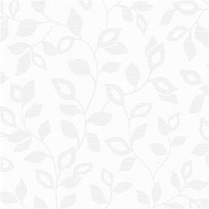 Fine Decor Athena Leaf Wallpaper White (FD40400)