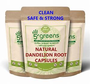 Dandelion Root Capsules   Uses - Side Effects - Dosage