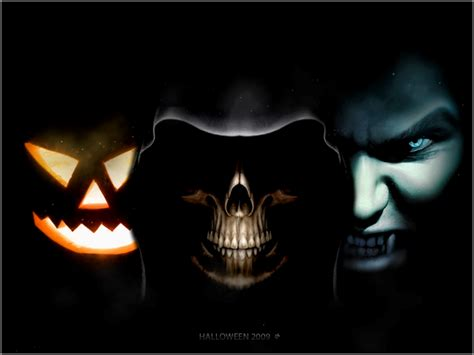 3d Halloween Wallpaper Wallpapersafari