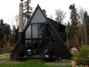 A Frame Cabin Windows