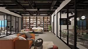 Modern, Industrial, Office, Design, U2014, Polycount
