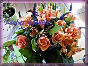 Zum Geburtstag Bilder Mit Einem Blumenstrau Liebesgre