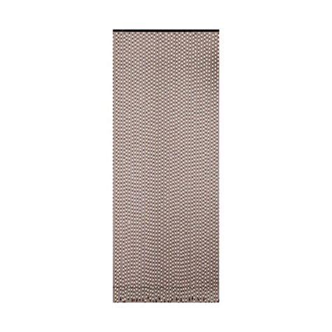 rideau porte perles bois olive 90 200