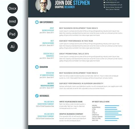 Resume Templates For Wordpad Free New Template 44