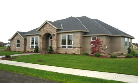 Custom One Level Homes Luxury One Level Homes, Single