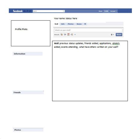 Fakebook Template 49 Templates Doc Pdf Psd Ppt Free