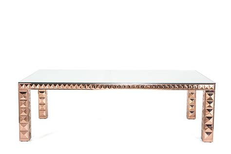 rose gold table l valentina rose gold dining table on rent for special events