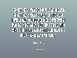 Arrogant Quotes. QuotesGram