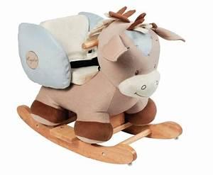 Cheval à Bascule Bebe : nattou cheval bascule rigolos doudouplanet ~ Teatrodelosmanantiales.com Idées de Décoration