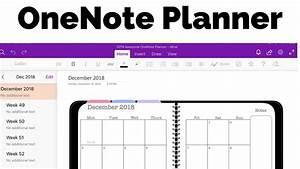 Onenote Planner
