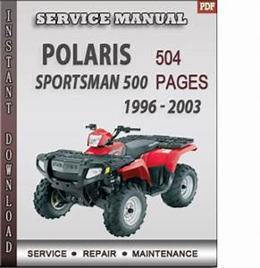 99 Polaris Sportsman 500 Service Manual