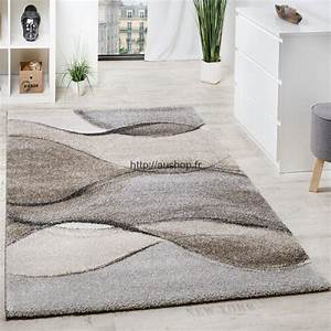 Tapis Beige Salon : tapis salon vente en ligne grand choix de tapis pas cher et design ~ Teatrodelosmanantiales.com Idées de Décoration