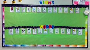 Sight word bulletin board class ideas pinterest for Bulletin board template word