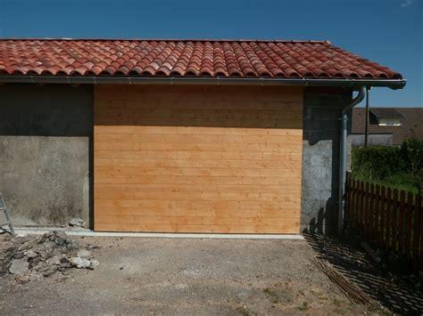 porte de garage coulissante isol 233 e par flem 31 sur l air du bois