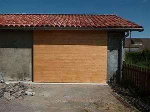 porte de garage coulissante isolee par flem 31 sur l39air With porte de garage coulissante en bois
