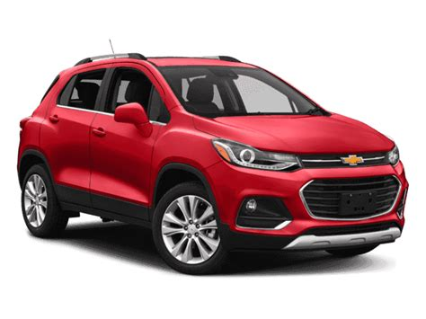 New 2018 Chevrolet Trax Awd 4dr Premier Sport Utility In