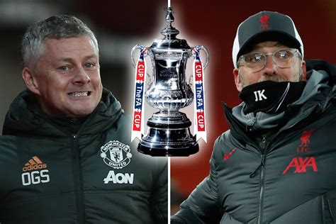 FA Cup draw: Man Utd face fierce rivals Liverpool in huge ...