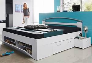Stauraumbett 140x200 Weiß : stauraumbett ~ Eleganceandgraceweddings.com Haus und Dekorationen