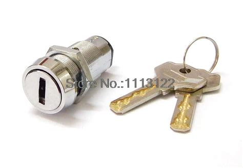 High Security Flat Key Pin Switch Lock For Game Cash