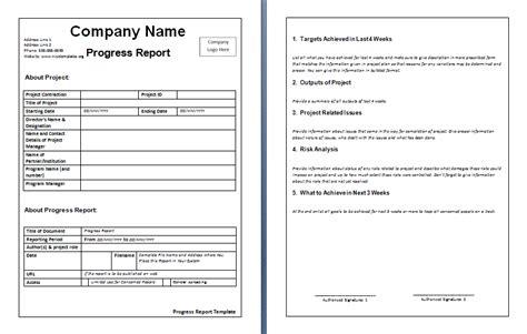 report layout template resumete