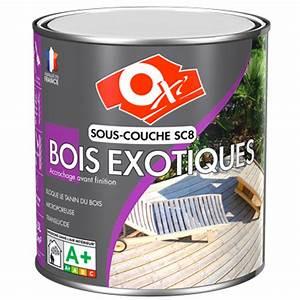 Sous Couche Bois Vernis : oxi sous couche bois exotiques sc8 ~ Dailycaller-alerts.com Idées de Décoration
