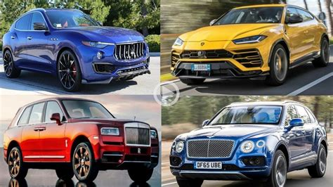 Top 10 Fastest Suv Supercars