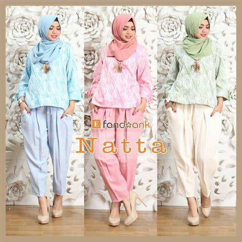 kaos anak baju anak setelan anak setelan blus dan kulot simpel cantik jual baju muslim