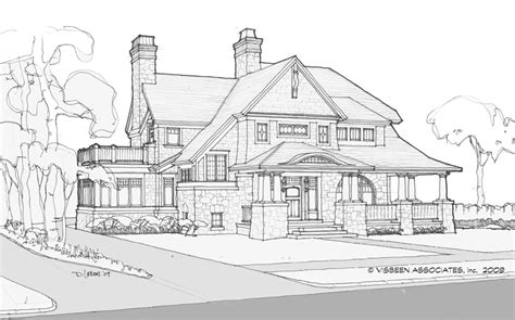 visbeen house plans infill home designs visbeen architects