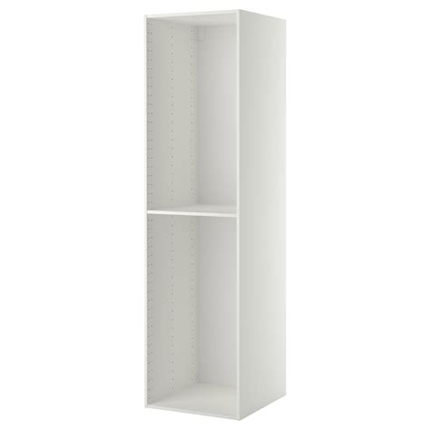 element armoire cuisine metod structure élément armoire blanc 60x60x220 cm ikea