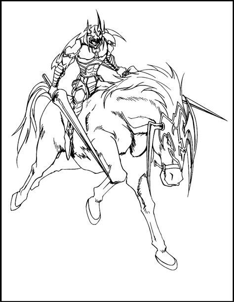 yu gi  gaia  fierce knight coloring picture  kids