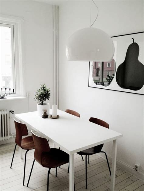 how to decorate your kitchen table 40 cool scandinavian dining room designs digsdigs