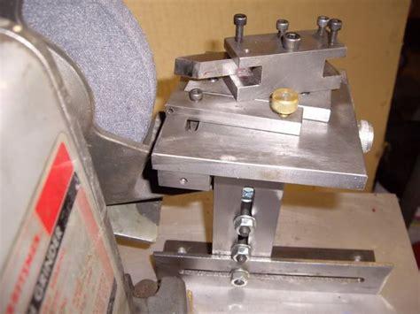 lathe tool sharpening jig images  pinterest