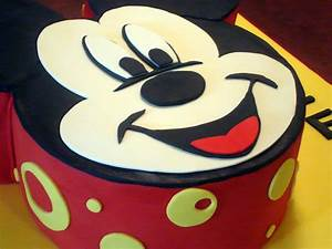 mouse mickey template cake ideas and designs With mickey mouse face template for cake