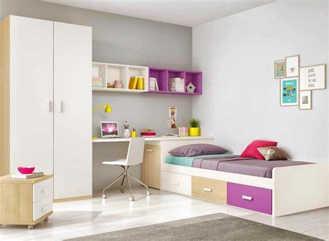 lit chambre ado chambre ado design multicolore avec lit 3 coffres
