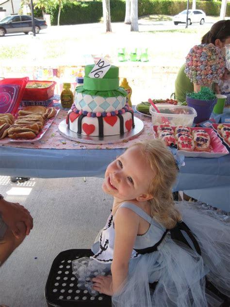 Laylas Alice In Wonderland  Ee  Birthday Ee   Party Project Nursery